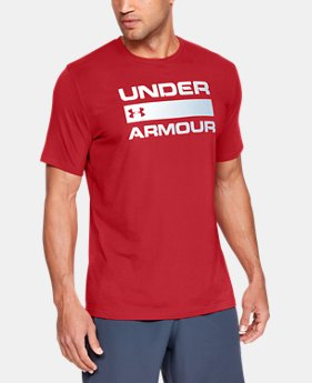 Men's UA Team Issue Wordmark T-Shirt  2 Colors $25 to $30