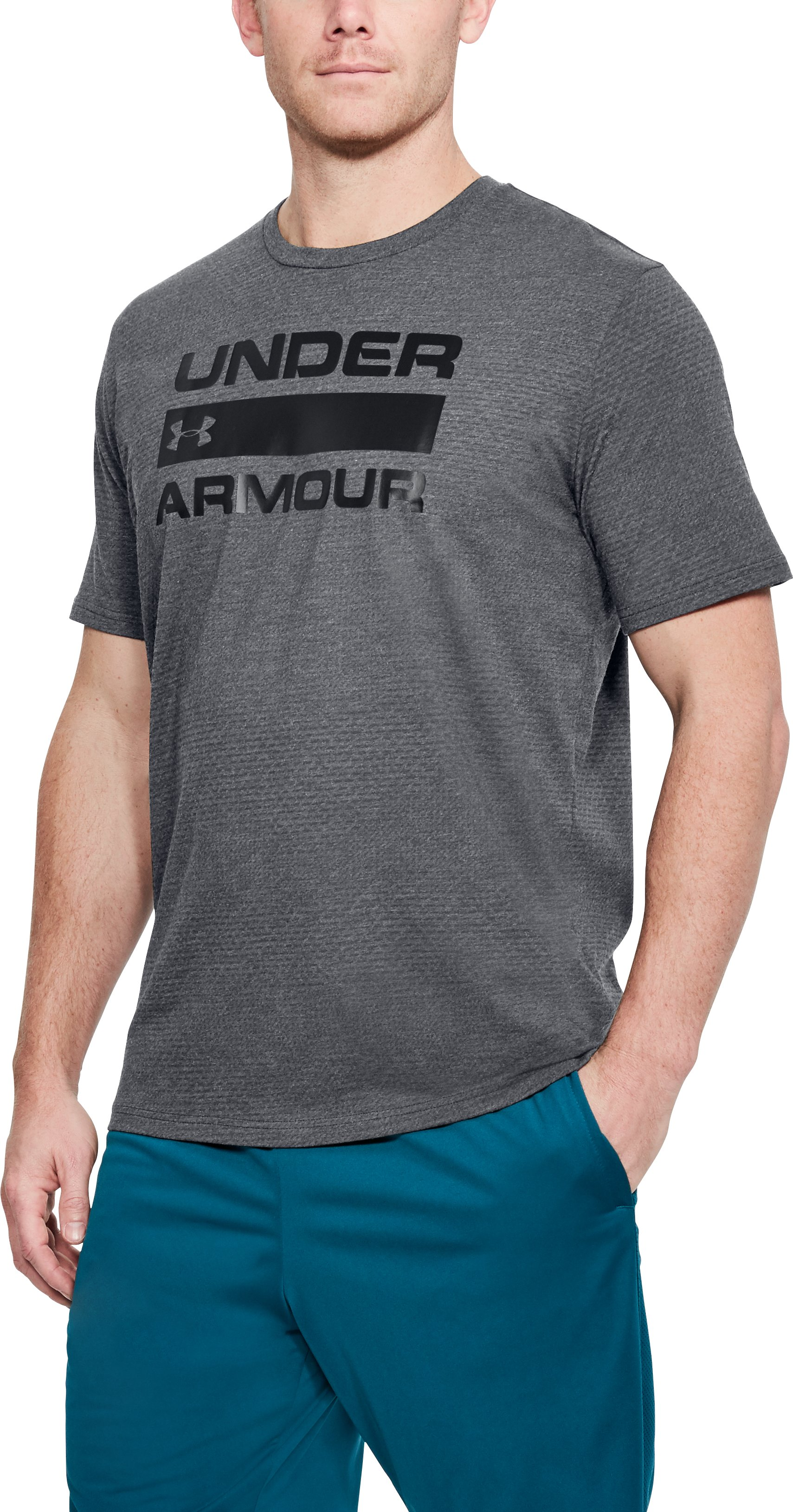 Men's UA Team Issue WM, Graphite,