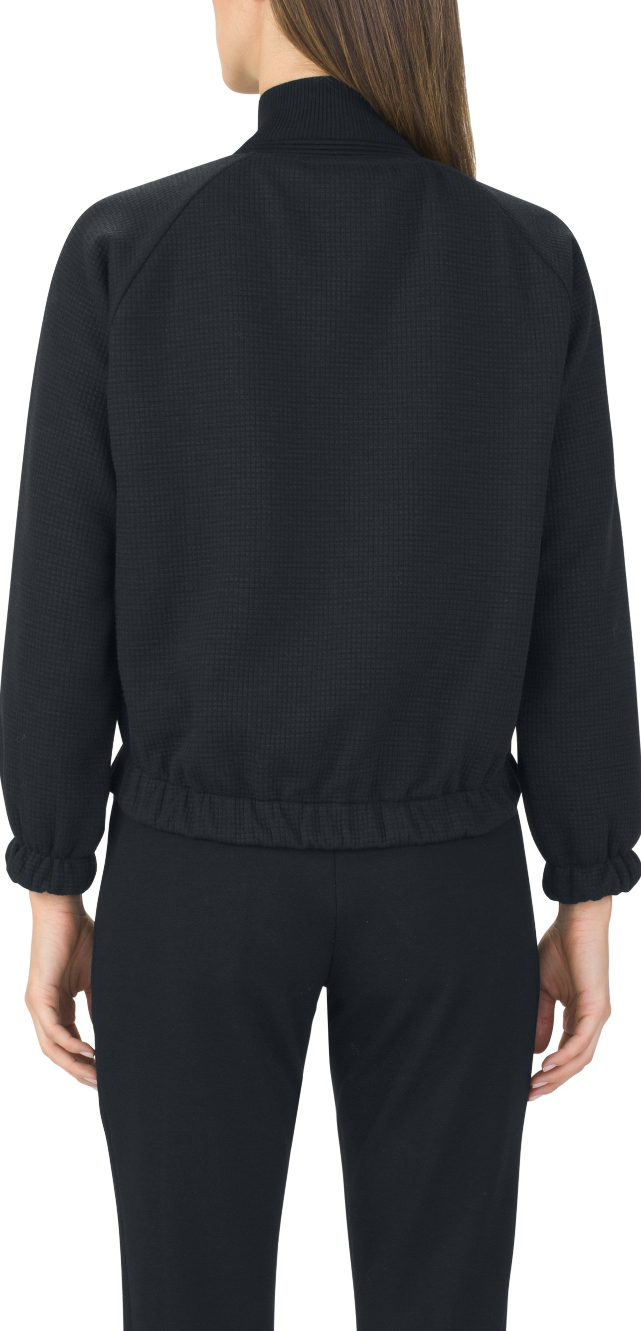 Women's UAS Knit Track Bomber, Black , undefined