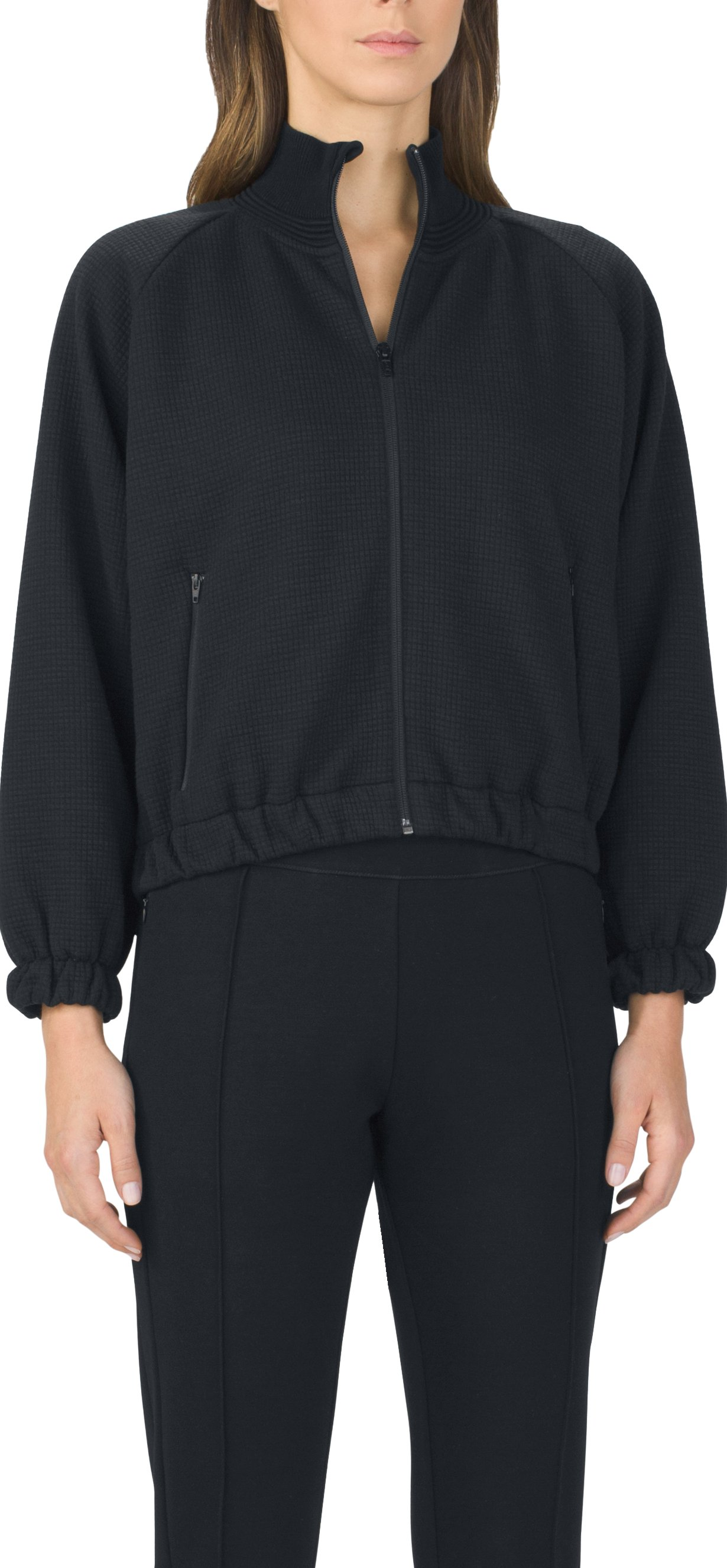 Women's UAS Knit Track Bomber, Black