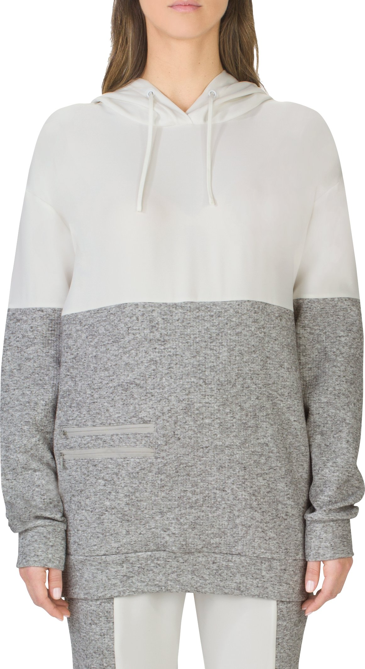 Women's UAS Motion Boyfriend Hoody, White, undefined