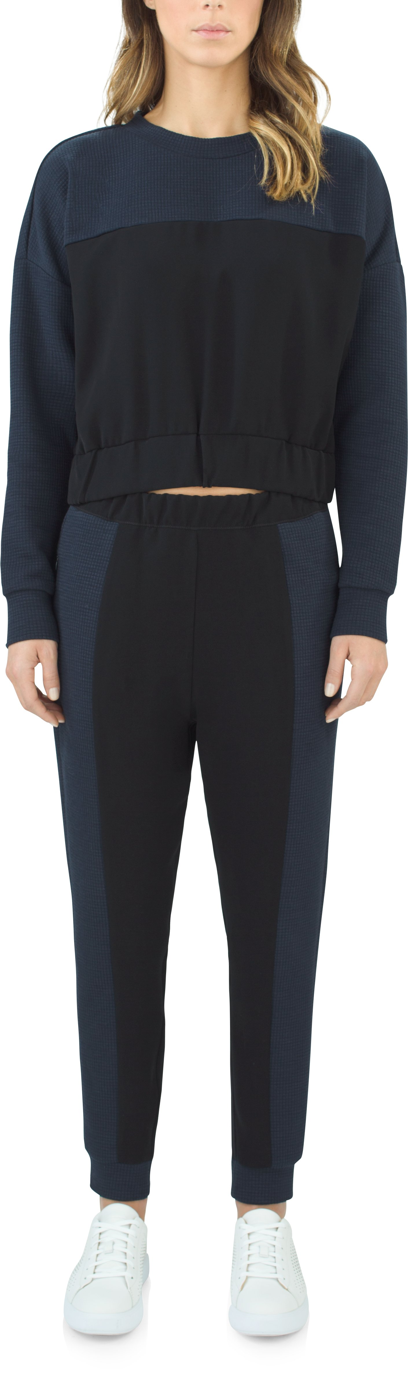 Women's Sweatpants, Black , Front