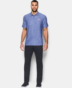 Men's Chicago Cubs UA Elevated Heather Polo  1 Color $69.99