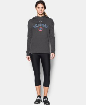 Women's Chicago Cubs UA Favorite Fleece Hoodie  1 Color $69.99
