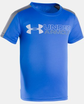 Boys' Pre-School UA UPF Sun Short Sleeve Shirt  1 Color $20.99