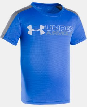 Boys' Toddler UA UPF Sun Short Sleeve Shirt  1 Color $16.99