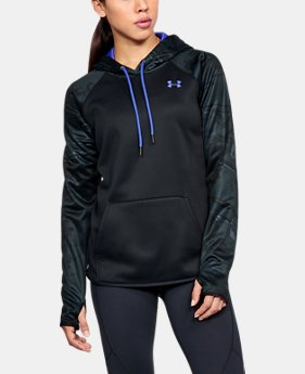 Women's  Armour Fleece® Camo Blocked Hoodie  1 Color $48.74