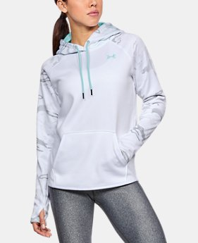 Women's Armour® Fleece Camo Blocked Hoodie LIMITED TIME OFFER 4 Colors $39.99