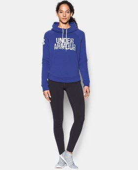 Women's UA Favorite Fleece Camo Logo Hoodie  3 Colors $64.99