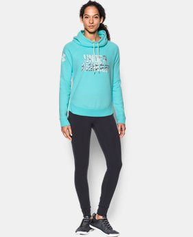 Women's UA Favorite Fleece Camo Logo Hoodie  2 Colors $49.99