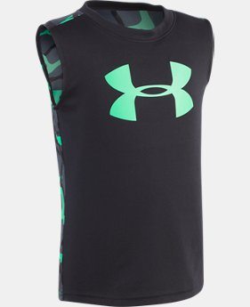Boys' Infant UA Big Logo Anatomic Tank Sleeveless Shirt   $17.99