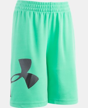 Boys' Pre-School UA Sandstorm Striker Shorts  1 Color $12.74