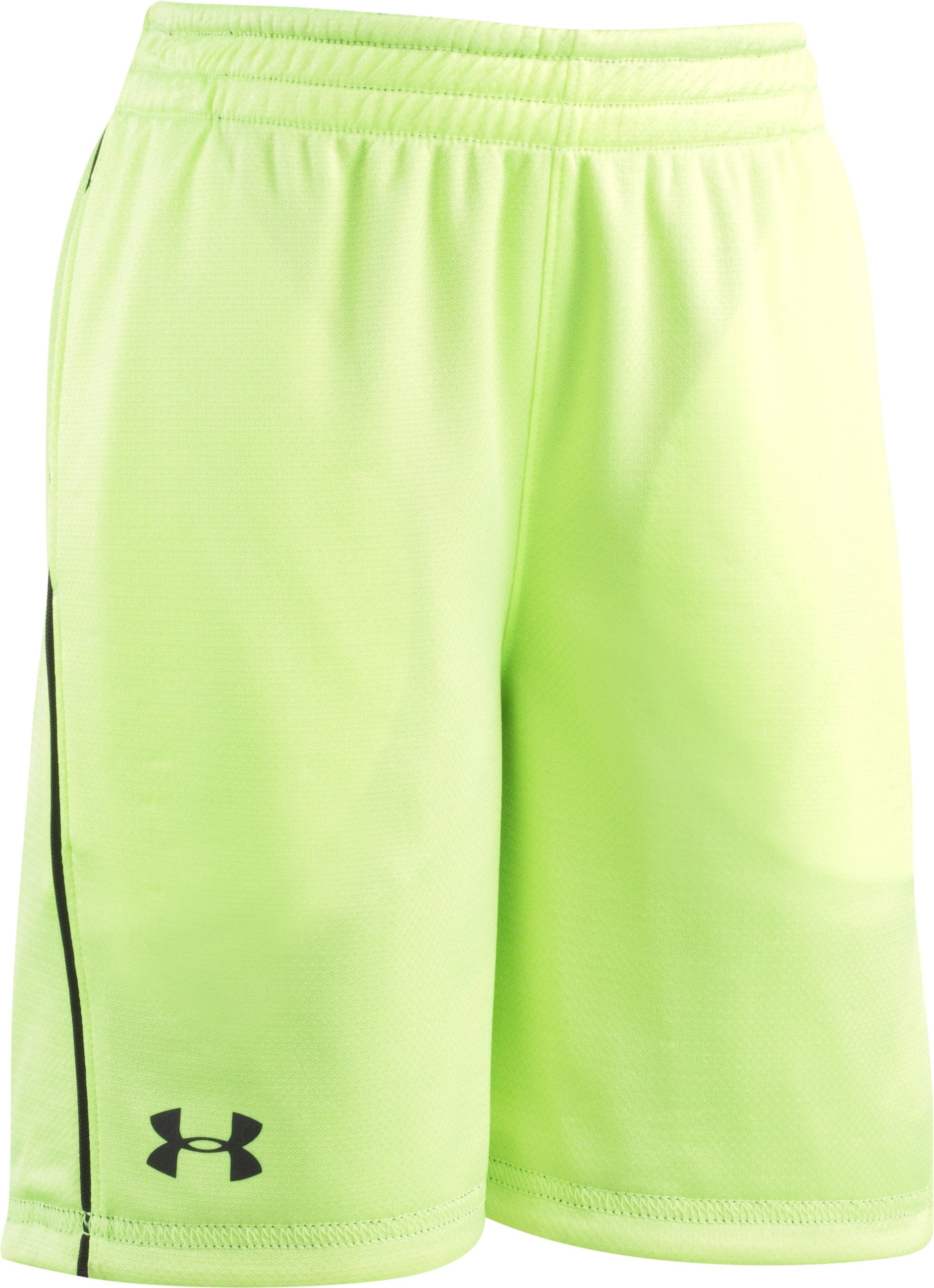 Boys' Toddler UA Sandstorm Speed Shorts, Graphite,