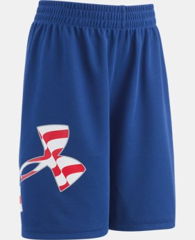 Boys' Infant UA Big Logo Americana Shorts  1 Color $14.99