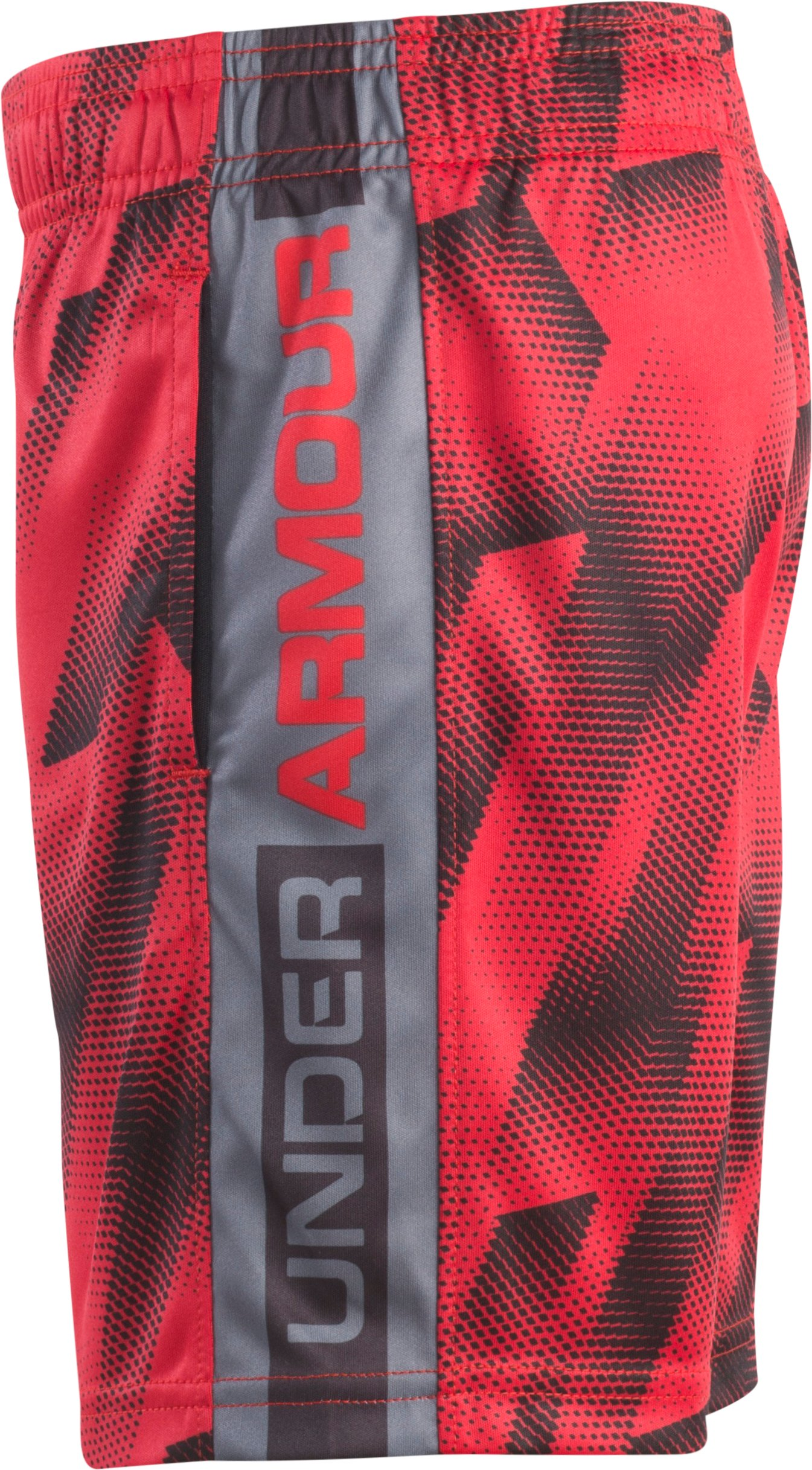 Boys' Toddler UA Anatomic Striker Shorts, Red, undefined