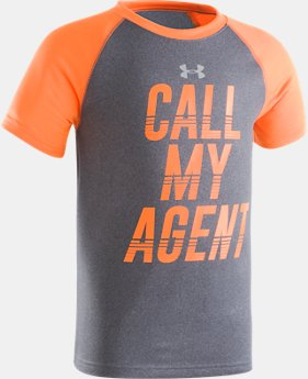 Boys' Toddler UA Call My Agent Short Sleeve Shirt  1 Color $17.99