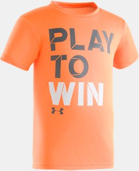Boys' Pre-School UA Going The Distance Short Sleeve Shirt  1 Color $17.99