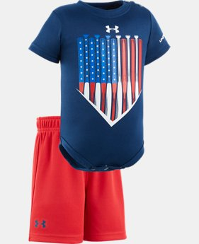 Boys' Newborn UA American Batter Set  1 Color $20.99