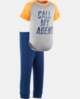 Boys' Newborn UA Call My Agent Set  1 Color $26.99