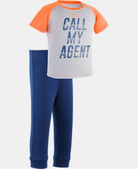 Boys' Infant UA Call My Agent Set  1 Color $20.24