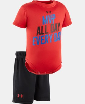 Boys' Newborn UA MVP All Day Set  1 Color $20.99