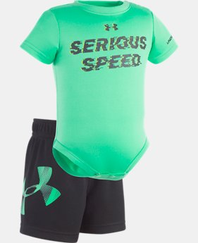 Boys' Newborn UA Serious Speed Set  1 Color $20.99