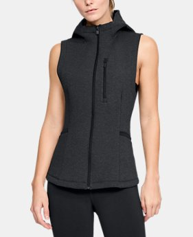 Women's Misty Copeland Signature Spacer Full Zip Vest   $100