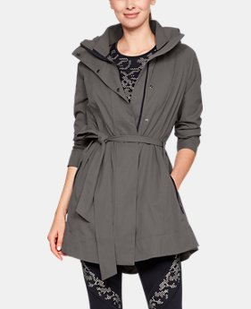 Women's Misty Copeland Signature Woven Trench  1  Color Available $230