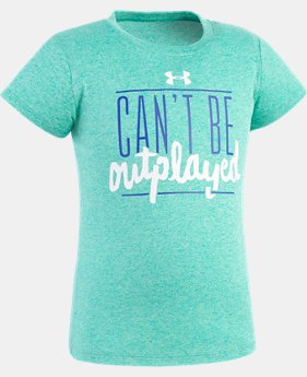 Girls' Toddler UA Can't Be Outplayed T-Shirt  1 Color $17.99