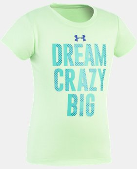 Girls' Pre-School UA Dream Crazy Big T-Shirt  1 Color $10.49