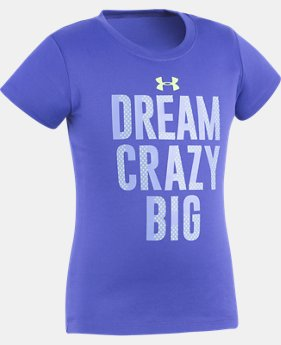 Girls' Toddler UA Dream Crazy Big T-Shirt   $10.49