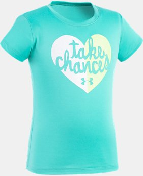 Girls' Toddler UA Take Chances T-Shirt  1 Color $10.49