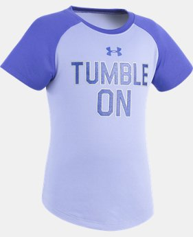 Girls' Toddler UA Tumble On T-Shirt  1 Color $14.99