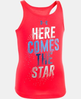 Girls' Toddler UA Here Comes The Star  Tank  1 Color $13.99