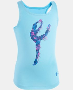Girls' Pre-School UA Prima  Tank  1 Color $17.99