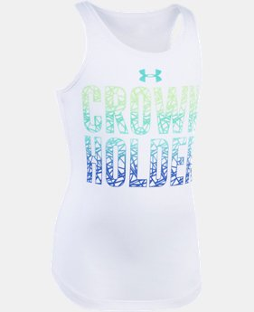 Girls' Pre-School UA Crown Holder Tank  1 Color $13.99