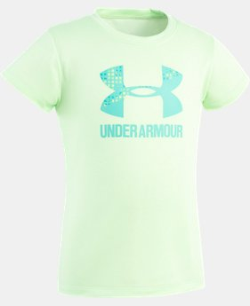 Girls' Toddler UA Terra Big Logo Short Sleeve  1 Color $13.99
