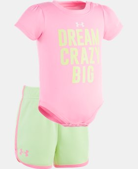 Girls' Newborn UA Dream Crazy Big Set  1 Color $15.74