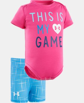 Girls' Newborn UA This Is My Game Set  1 Color $19.99