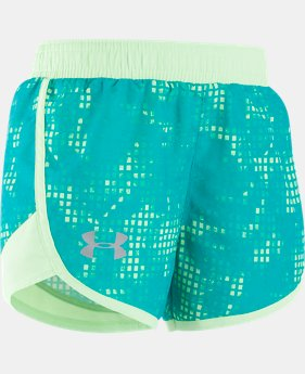 Girls' Toddler UA Fast Lane Shorts   $11.24