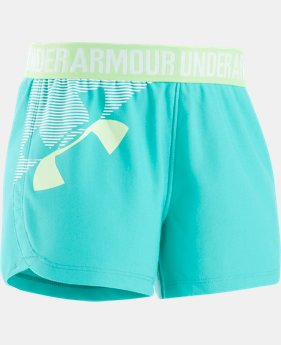 Girls' Pre-School UA Play Up Shorts  1 Color $11.24