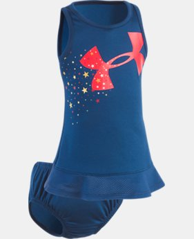 Girls' Newborn UA Star Spangled Dress  1 Color $15.74