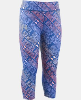 Girls' Toddler UA Wordmark Capris  1 Color $26.99