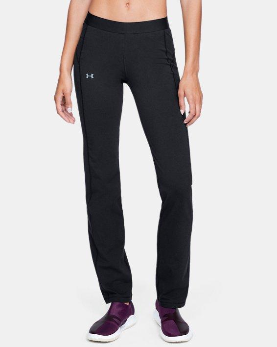 Women's UA Favorite Straight Leg Pants, Black, pdpMainDesktop image number 0