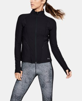 Women's UA Vanish Disrupt Mesh Full Zip  1  Color Available $67.99
