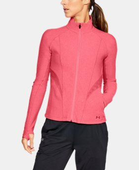Women's UA Vanish Disrupt Mesh Full Zip  1  Color Available $80