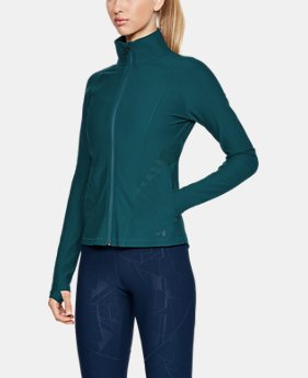 Women's UA Vanish Disrupt Mesh Full Zip  2  Colors Available $90
