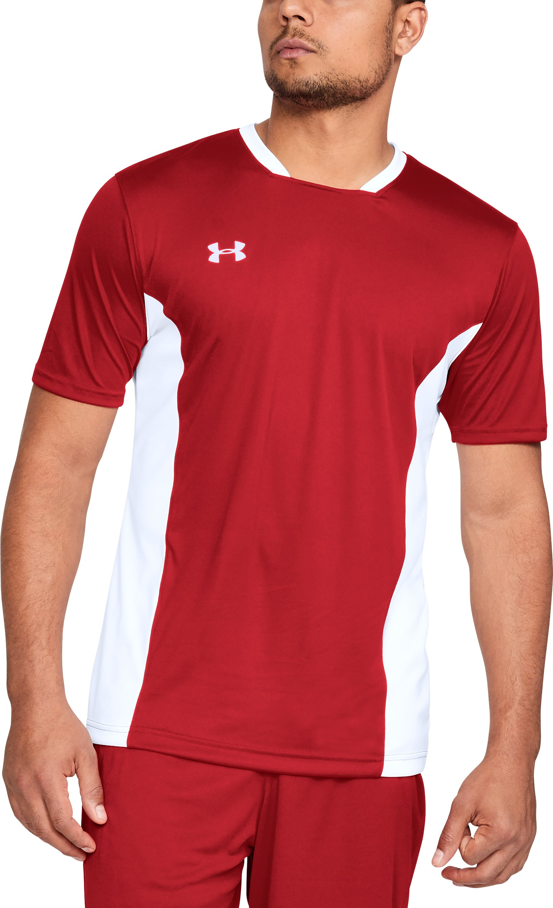 Men's UA Challenger II Training Shirt, Red