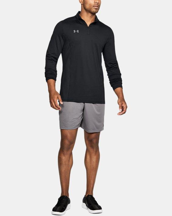 Men's UA Challenger II Midlayer Shirt, Black, pdpMainDesktop image number 1