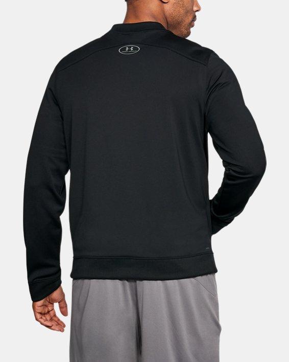 Men's UA Challenger II Track Jacket, Black, pdpMainDesktop image number 2